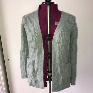 Grey open front cardigan by Mossimo. Size Medium